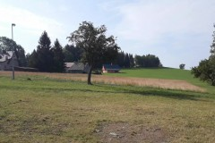 Penzion Arnika v Jestřabí - pohled z penzionu